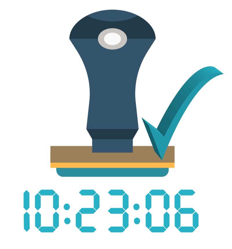 Conafianza Digital servicio de Emisión Sellos digitales de tiempo